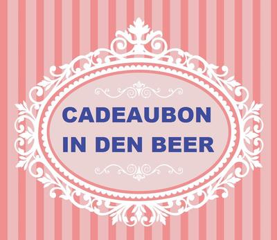 CADEAUBON €50.00 In den beer