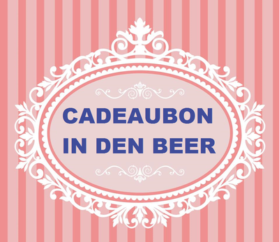CADEAUBON €10.00 In den beer