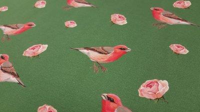 Vogeltje met kleine roosjes Stenzo