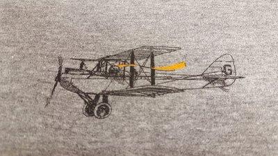 Dubbeldekkers - oranje sjaal In den beer