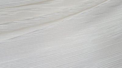 plissé wit (metrage maal 1.5 rekenen) In den beer