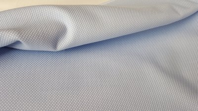 Dots Blauw Jacquard In den beer