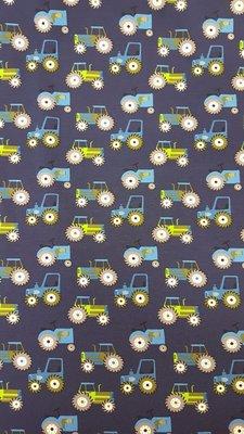 Kleine tractoren blauw In den beer