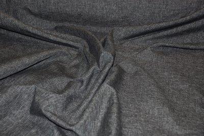 Gordijnstof grijs/zwart 1 In den beer