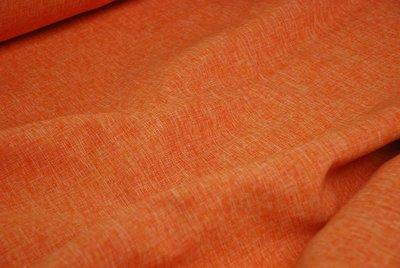 Gordijnstof Oranje 'hermes' 1 In den beer