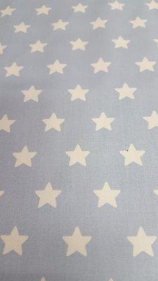 wit/blauwe sterren (gamy katoen, superkwaliteit) In den beer