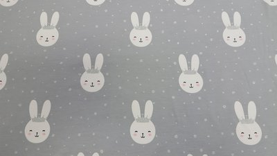 Queen bunny Grey