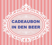 CADEAUBON €40.00 In den beer